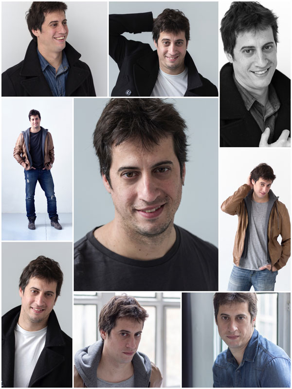 Oscar Morell - Book Actor