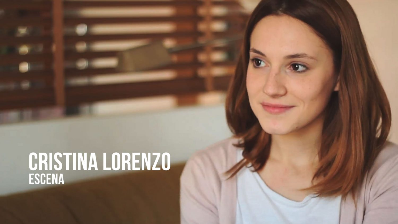 Cristina Lorenzo - Escena Actriz