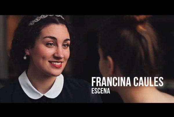 Francina Caules - Escena Actriz Época