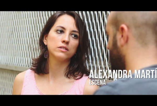 Alexandra Martín Fusté - Escena Actriz