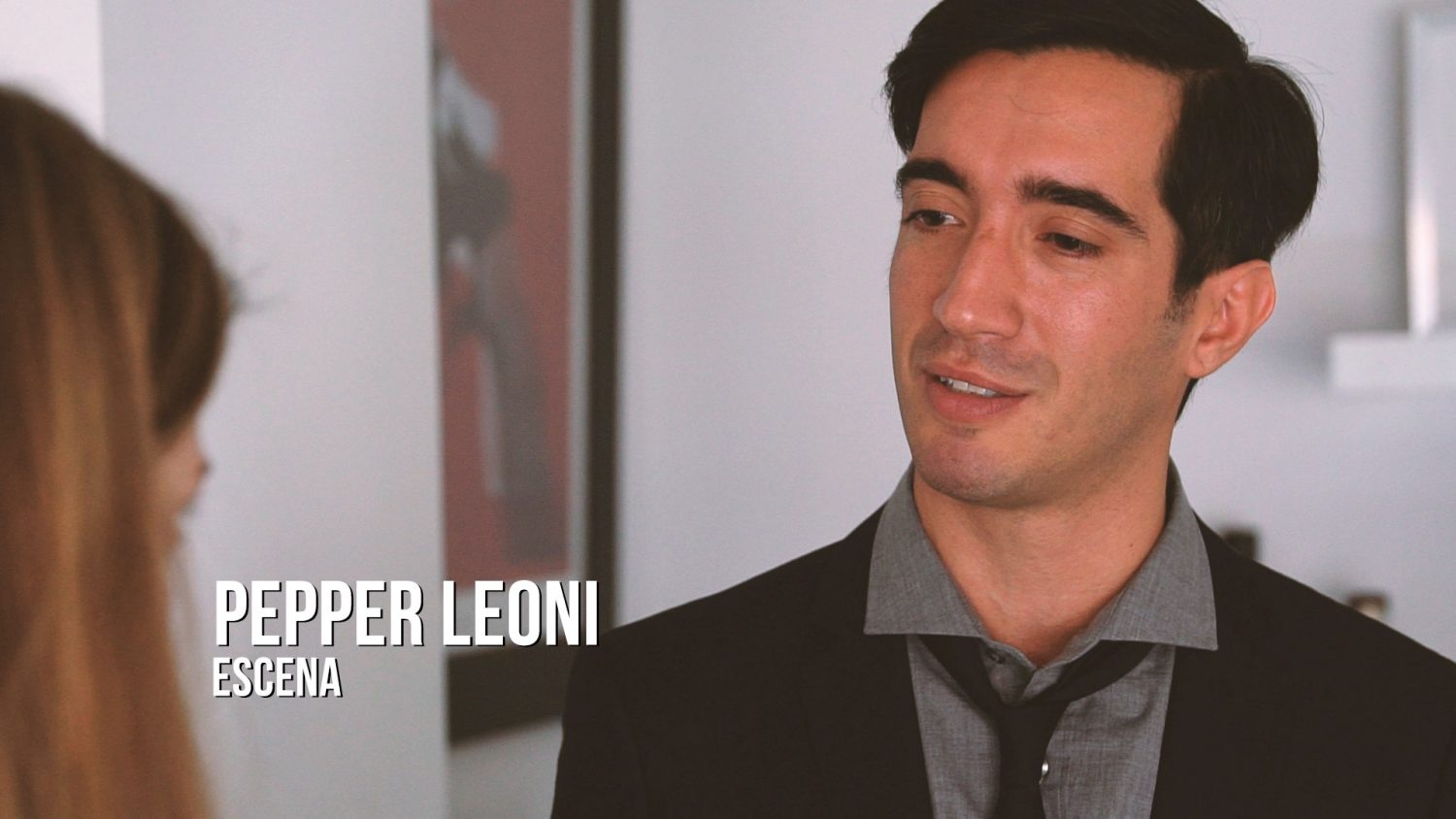Pepper Leoni - Escena Actor