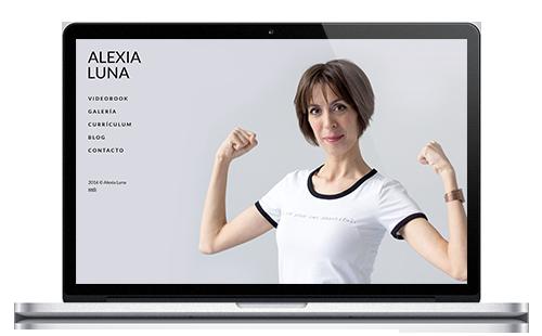 Alexia Luna - Web Actriz