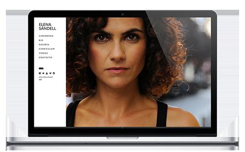 Elena Sandell - Web Actriz