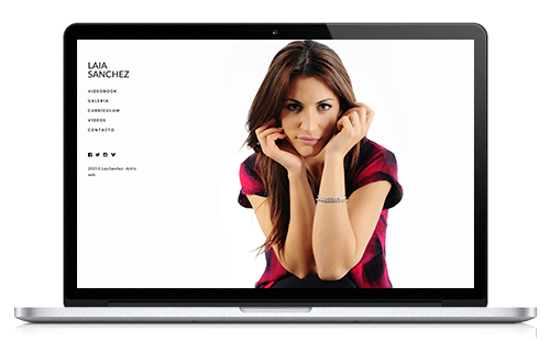 Laia Sanchez - Web Actriz