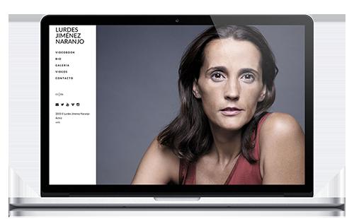 Lurdes Jiménez Naranjo - Web Actriz
