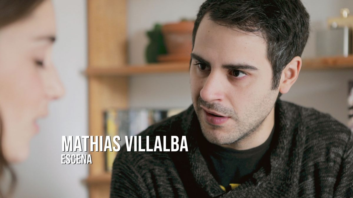 Mathias Villalba - Escena Actor Romántica