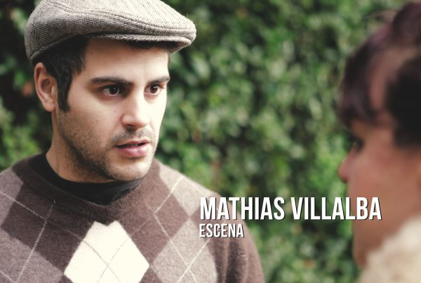 Mathias Villalba - Escena Actor de época