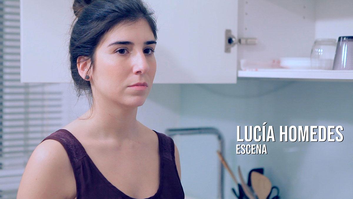 Lucía Homedes - Escena Actriz