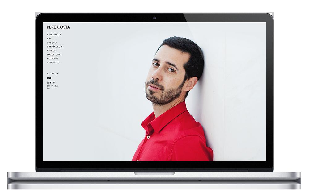 Pere Costa | Web Actor