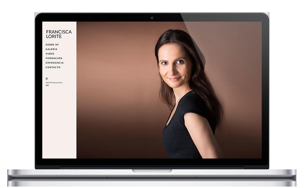 Francisca Lorite - Página web actriz