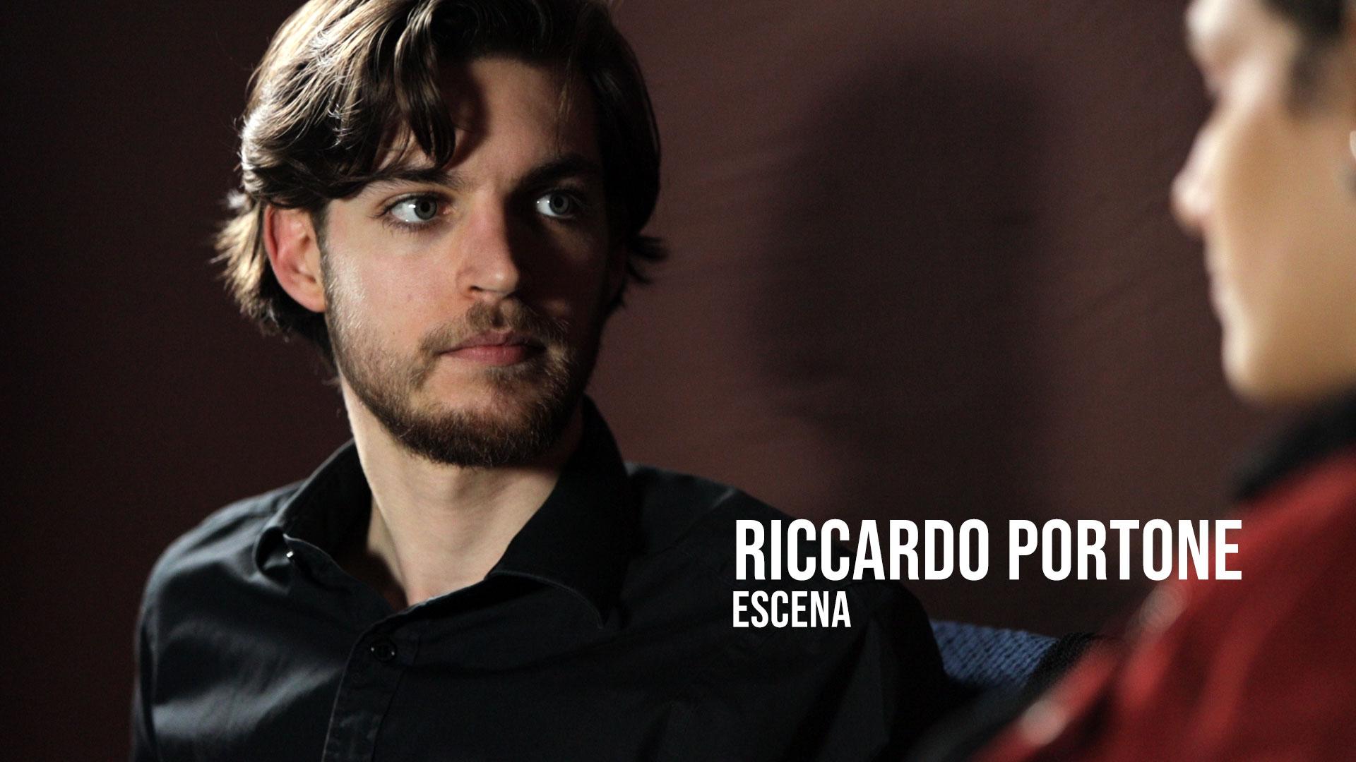 Riccardo Portone - Escena Actor