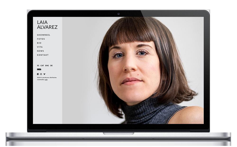Laia Álvarez - Web Actriz